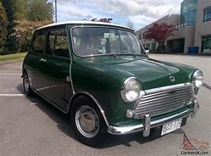 Mini Austin Cooper : 1968 austin mini cooper mkii 998cc ~ Medecine-chirurgie-esthetiques.com Avis de Voitures