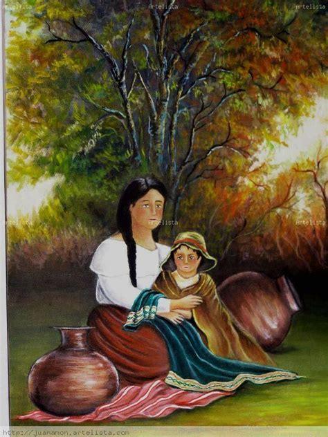 hermosas obras de arte dedicadas  las madres