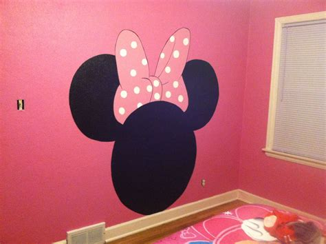 Hand Painted Minnie Mouse Headboard Emily Loves It