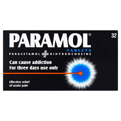 paramol  tablets pain relief chemist