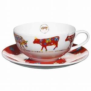 Tasse à Thé : cow parade service de 2 tasses th tatl de dfte cow parade dans cow parade mini ~ Teatrodelosmanantiales.com Idées de Décoration