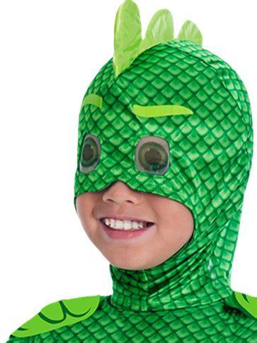 pj masks gekko deluxe child costume party delights