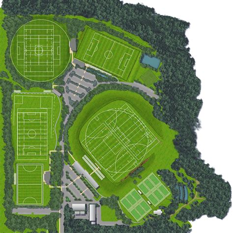 macquarie university sports field masterplan scott carver