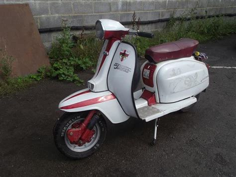 A 1980 Lambretta Jet 200, Registration Number Ryd 180v