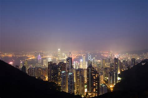 city view  night