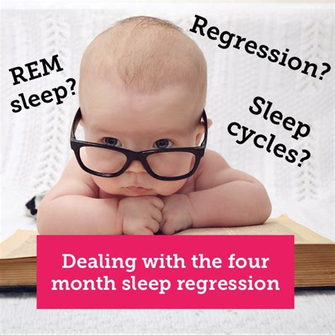 Dealing With The Four Month Sleep Regression Slumbertots