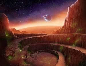 Mars Landscape Wallpaper - Pics about space