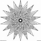 Coloring Pages Abstract Easy Designs Adults Popular sketch template