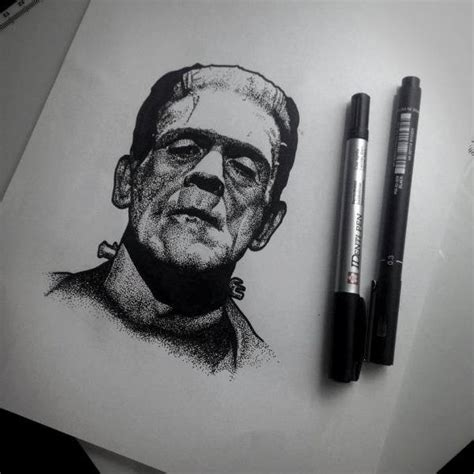 latest frankenstein tattoo designs