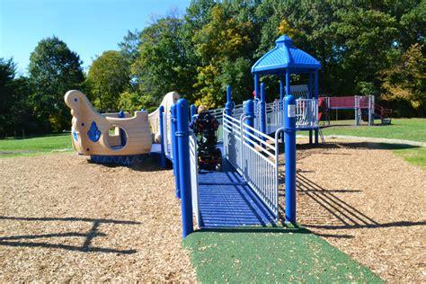 sinking borough playground sinking fund provides adaptive playground at haisley