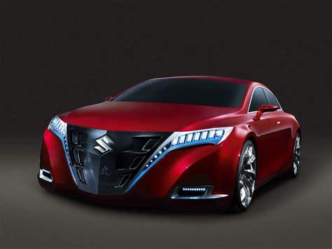 Red Suzuki Kizashi 2 Concept Car