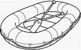 Raft Clipart Inflatable Rafting Coloring Clip Pages Sketch Transportation Template Cliparts Wide Preschool Pencil Boat Rafts Transporte Para Clipground Library sketch template
