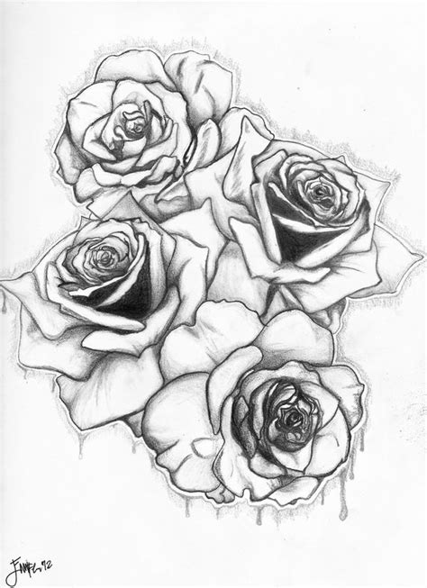 Gallery For Graffiti Roses in 2019 | Art drawings sketches, Rose drawing tattoo, Graffiti flowers