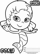 Guppies Bubble Coloring Pages Oona Nickelodeon Colouring Sheets Birthday Cute Guppy Google Outline Printable Molly Characters Bubbles Coloringpagesfortoddlers Character 2nd sketch template
