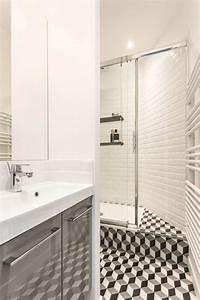 Plan Petite Salle D Eau : r novation d 39 une petite salle de bains de 2 5 m2 c t maison ~ Dallasstarsshop.com Idées de Décoration