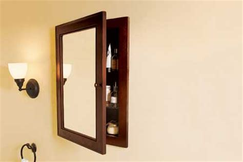 how to frame a medicine cabinet mirror diy how to build a medicine cabinet plans free