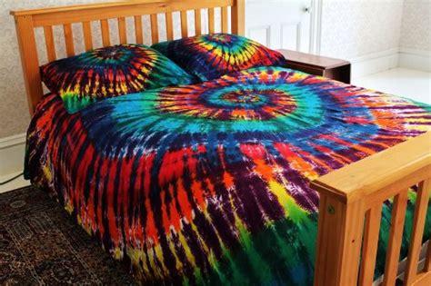 rainbow tie dye bedding interior exterior ideas