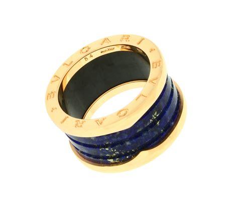 bvlgari bvlgari 18k white gold 4 band ring size gold bvlgari