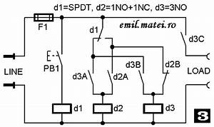 Emil Matei - On-off Switch Using 3 Relays