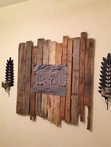 Pallet wall art diy crafts