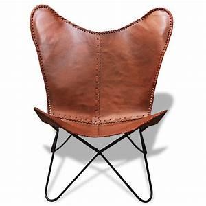 Vintage Stuhl Leder : nur bkf stuhl schmetterling retro vintage leder ~ Markanthonyermac.com Haus und Dekorationen