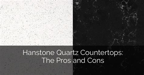 Hanstone Quartz Countertops: The Pros and Cons   Home