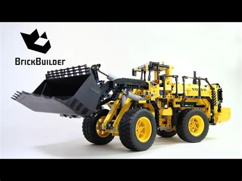 lego technic 42030 lego technic 42030 volvo l350f wheel loader lego speed build