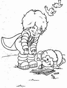 16 best coloring pages 28 (rainbow brite) images on ...