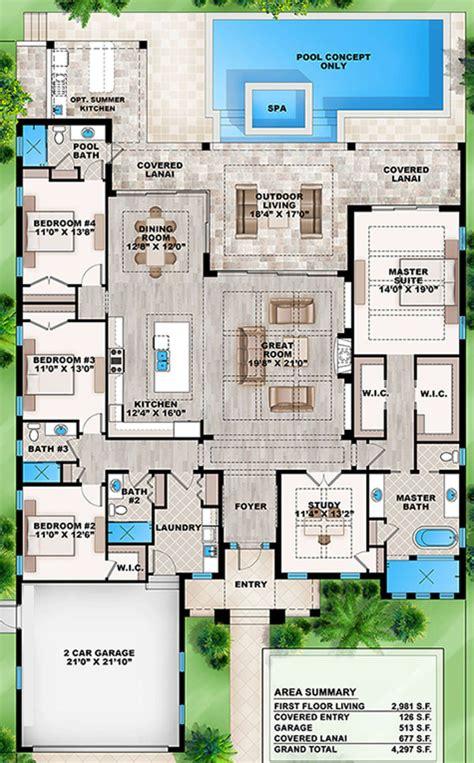 House Plan 207 00030 Coastal Plan: 2 986 Square Feet 4