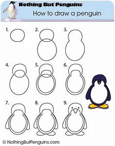 How to draw a penguin - Nothing But Penguins