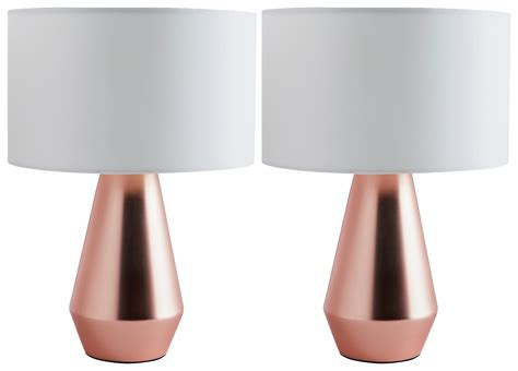 Habitat Rica Copper Touch Table Lamp