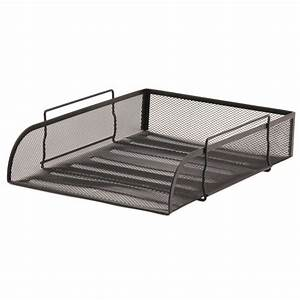 mesh letter tray a4 black staplesr With staples black wire mesh stackable letter tray