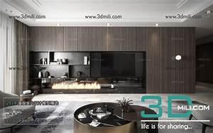 3d66 Interior - 3d Mili - Download 3d Model - Free 3d Models
