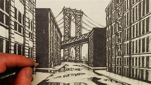 How to Draw 1-Point Perspective: A View of Manhattan ...