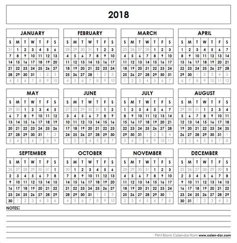 blank template year printable calendar editable