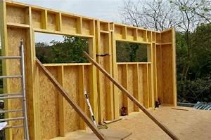 Extension Ossature Bois : extension ossature bois aumes une r alisation ethique ~ Melissatoandfro.com Idées de Décoration