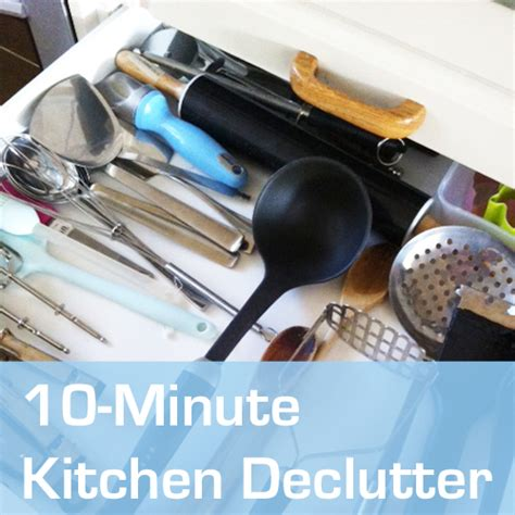10minute Kitchen Declutter Utensil And Cutlery Drawers