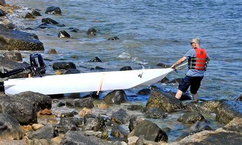 Skiff Kayak Launch wavewalk s4 skiff launch anywhere you want demo