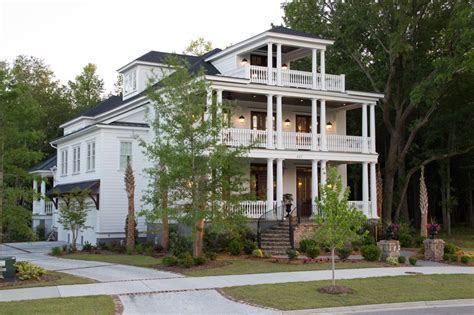 style home unique and historic charleston style house plans from