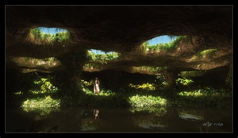 Hidden Garden By Arthurblue On Deviantart