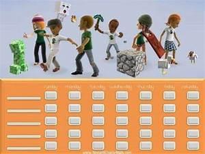 Free Printable Chore Chart Templates Free Printable Customizable Minecraft Behavior Charts