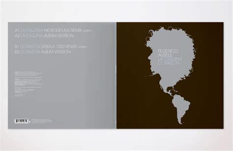 Federico Aubele, Vinyl Single (esl Music, Us) 2008 On Behance