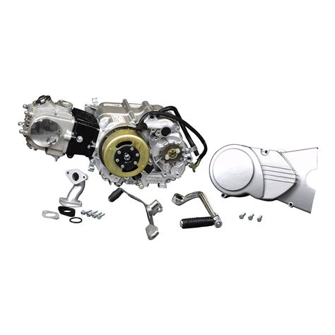 Hensim 70cc Atv Wiring Diagram by 50cc 4 Stroke Engine With Manual Clutch Kick Start For