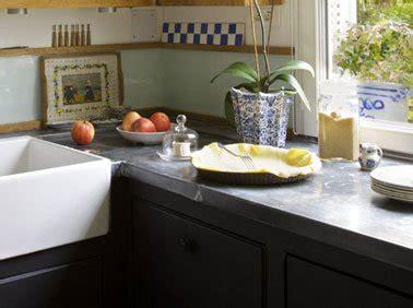 cuisine en zinc faire un plan de travail cuisine en zinc