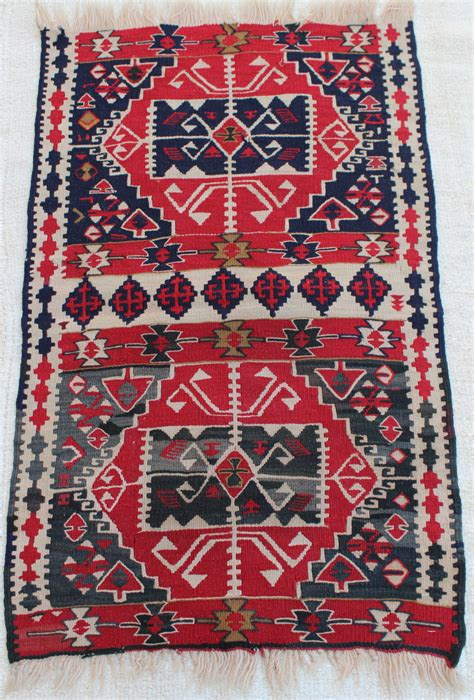 Interesting Pattern Kilim Rug High Quality Village Kelim Rugs