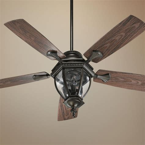 52 quot quorum baltic bronze patio ceiling fan with light kit