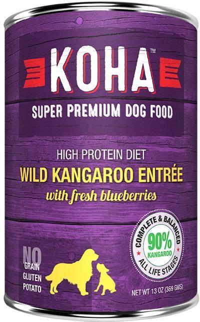 KOHA Kangaroo Pate dog and cat food