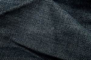 Fold Dark Blue Jeans Texture Background Stock Image ...