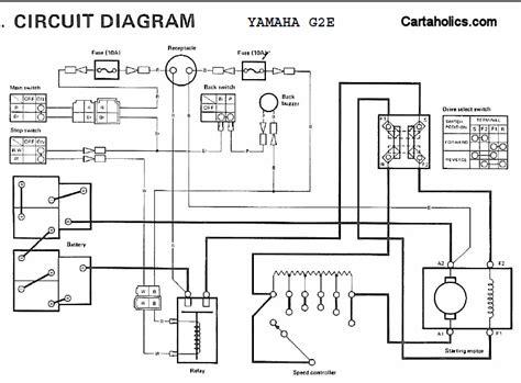 Yamaha Electric Golf Cart Wiring Diagram
