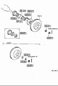 Toyota Celica Disc  Front  Brake  Brakes  Rotor
